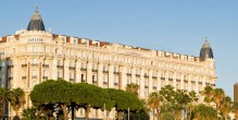 L'hôtel InterContinental Carlton à Cannes