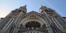La basilique du Sacré Coeur à Bourg-en-Bresse