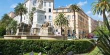 La Place Foch à Ajaccio