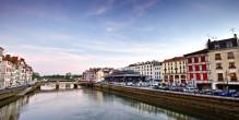 La rivière de l'Adour à Bayonne