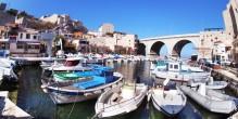 Le vallon des Auffes à Marseille