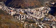 Vue d'ensemble de la ville de Digne-les-Bains