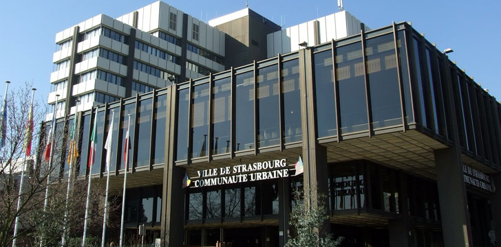 La mairie de strasbourg 67076 bas rhin alsace for Salon de la gastronomie strasbourg