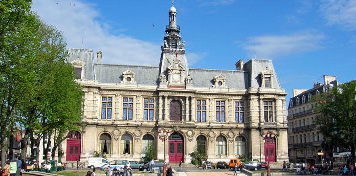 La mairie de poitiers 86000 vienne poitou charentes for Plan de la vienne 86000