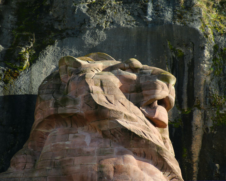 Photo du Lion de Belfort