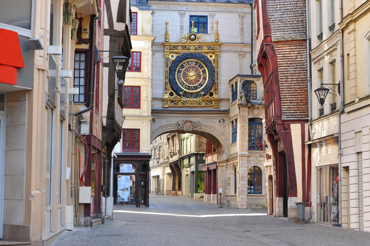 Photo du Gros-Horloge de Rouen