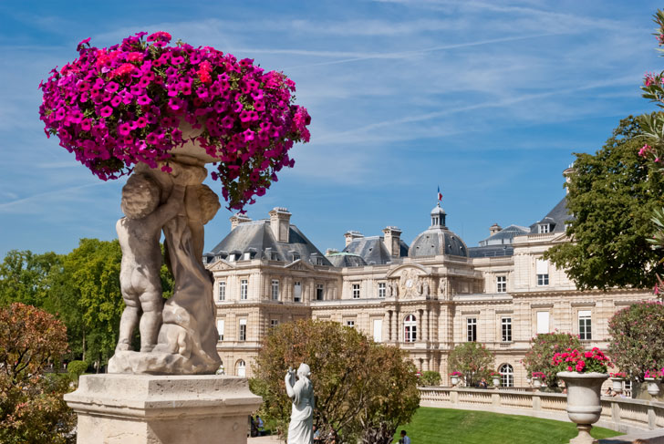 Photo du Palais du Luxembourg à Paris