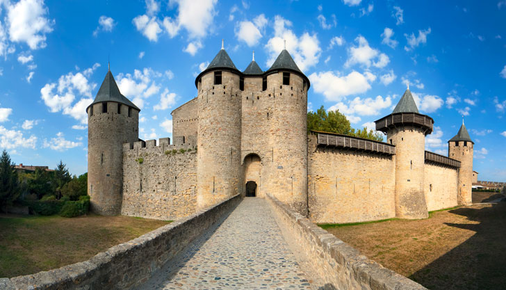 Photo du Château de Carcassonne