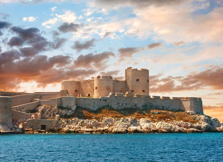 Photo du Château d'If de Marseille