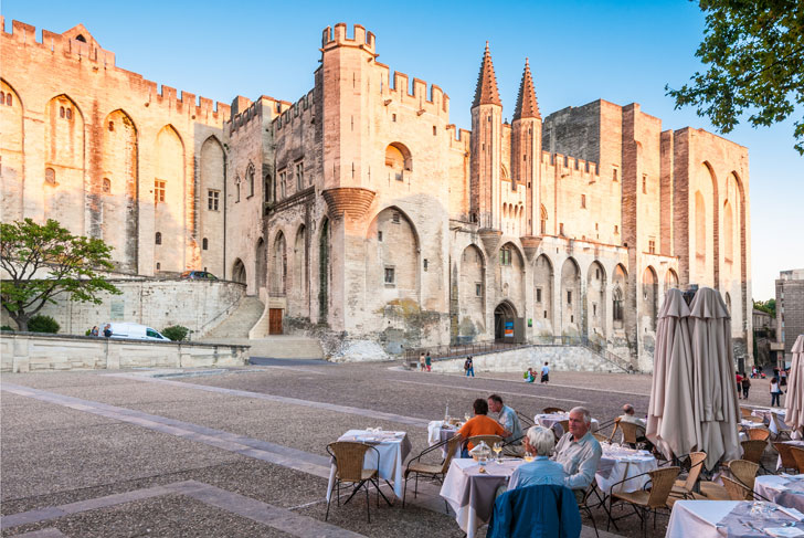 Photo du Palais des Papes à Avignon