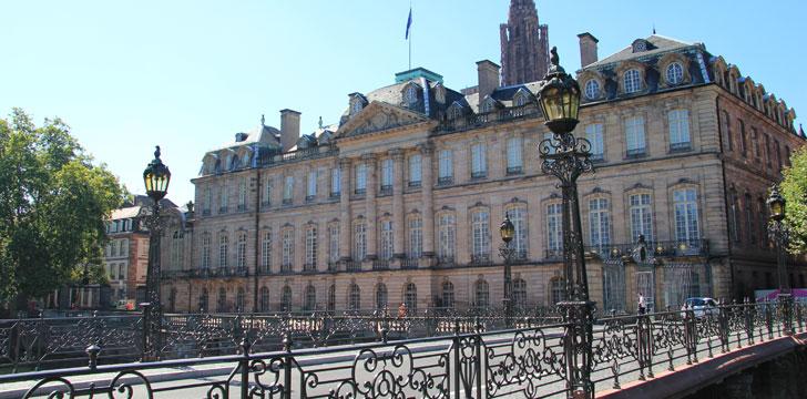 Le Palais des Princes de Rohan à Strasbourg