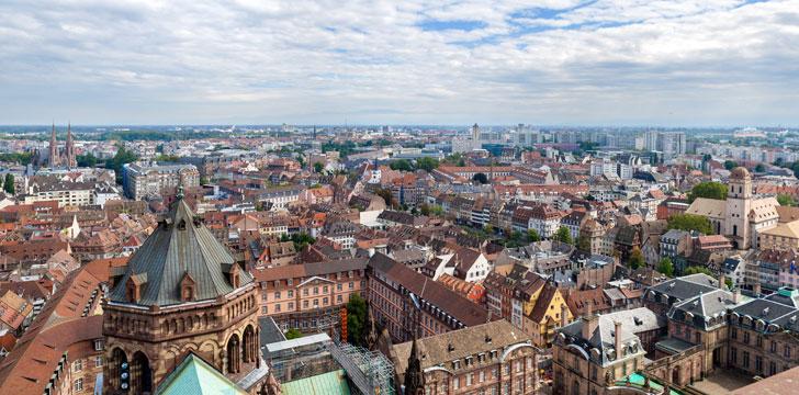 Que visiter strasbourg monuments difices religieux for Piscine de strasbourg