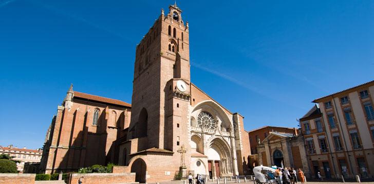 La Cathédrale Saint-Etienne à Toulouse