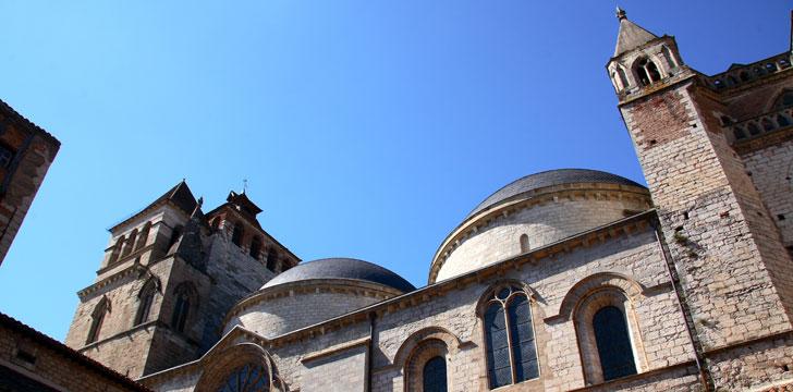 Que visiter cahors le pont valentr la place gambetta la vieille ville - Cathedrale saint etienne de cahors ...