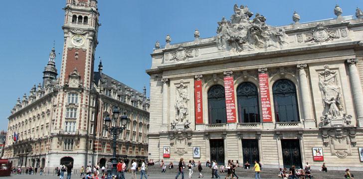 Que visiter lille les monuments et places historiques - Chambre de commerce italienne en france ...