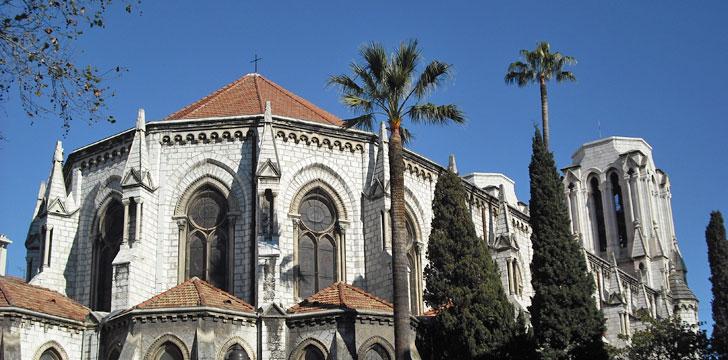 La Basilique Notre-Dame à Nice