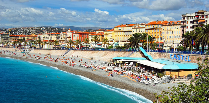 Castel Plage à Nice