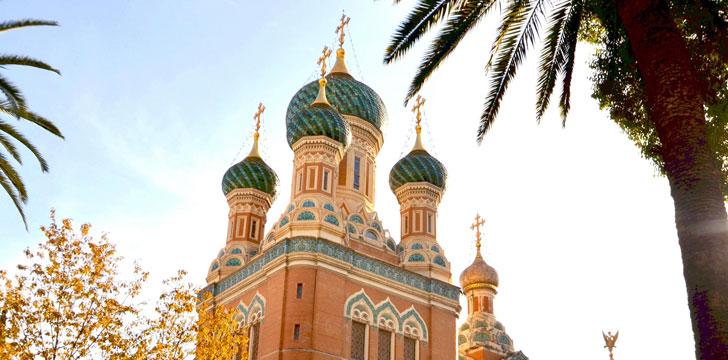 La Cathédrale Russe Saint-Nicholas à Nice