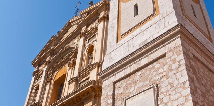 La Cathédrale Sainte-Réparate à Nice
