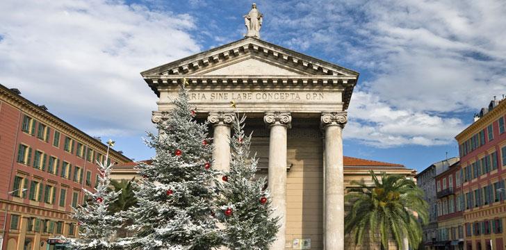 L'Église Notre-Dame-du-Port à Nice