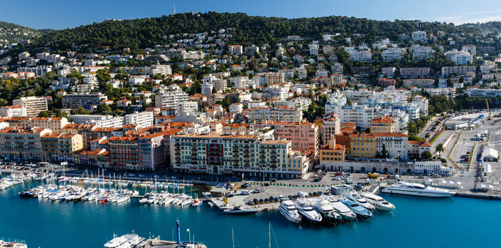 Le Port Lympia à Nice