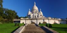 La Basilique du Sacré-Coeur de Montmartre à Paris