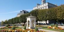 Le boulevard des Pyrénées à Pau
