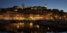 Cannes, la nuit