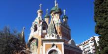 La cathédrale orthodoxe russe Saint-Nicolas de Nice
