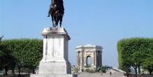 La promenade du Peyrou à Montpellier