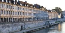 Le Quai Vauban à Besançon