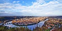 Vue d'ensemble de la ville de Cahors